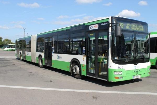 Autobus Man dwuczłonowy