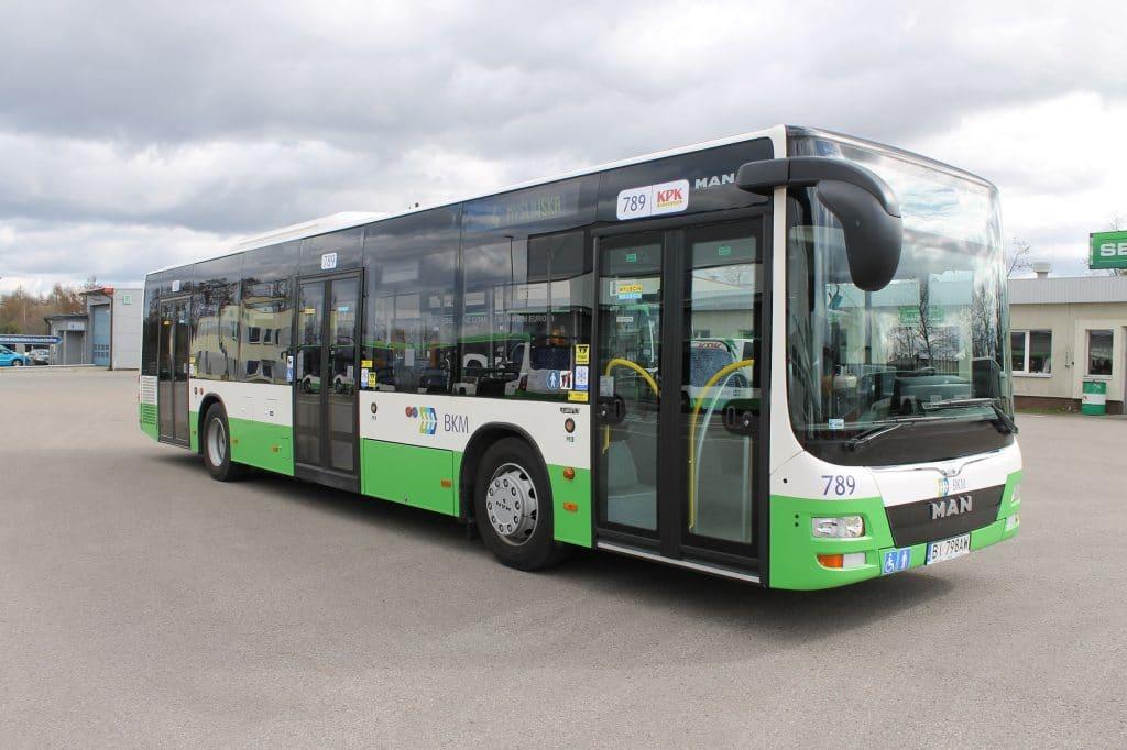 Autobus jednoczłonowy - MAN