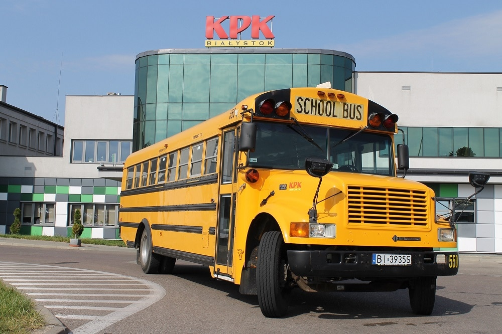 Zabytkowy autobus szkolny