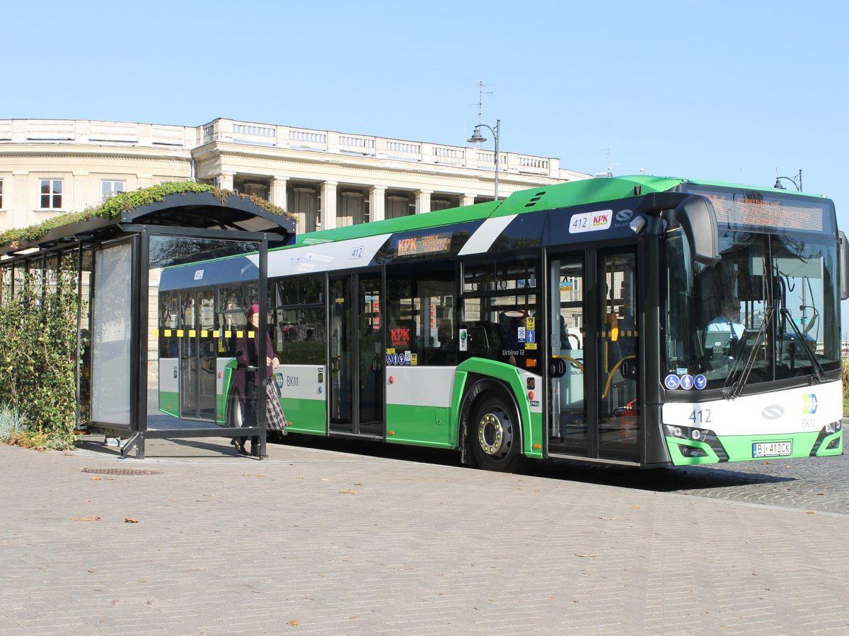 Autobus w Centrum Białegostoku